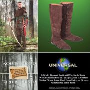 Robin Hood Tall Suede Boots - Officially Licenced